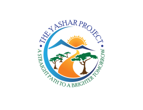 black background logo