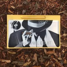 Custom Jay-Z Cigar Rolling Tray